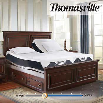"Thomasville 12"" Elite III Latex Hybrid Split King Mattress"