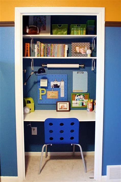 Closet Desk Ideas Study Desks Small Bedrooms
