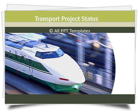 Powerpoint Transport Template Powerpoint Templates Transportation