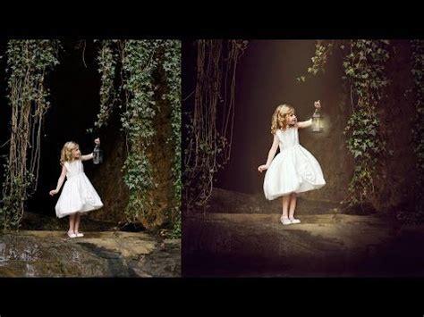 composite child fine art speed edit enchanted shoot
