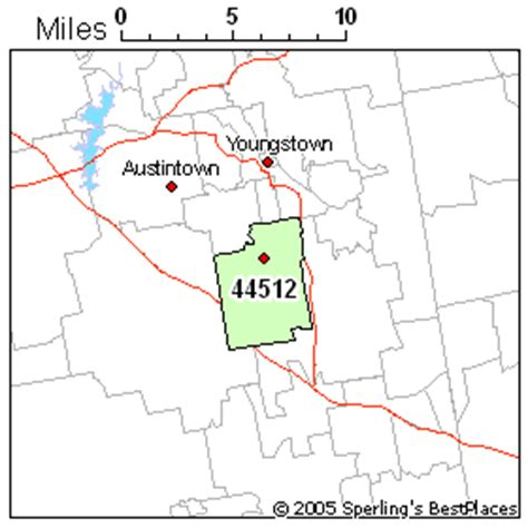 zip code map youngstown ohio best place to live in youngstown zip 44512 ohio