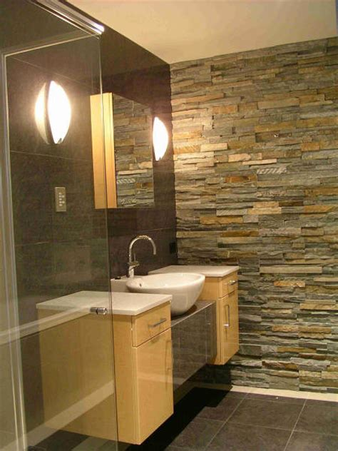 rust bathroom mountain rust ledgestone bathroom contemporary