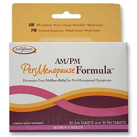 Best Detox Supplement For Perimenopause by Evitamins Enzymatic Therapy Am Pm Perimenopause
