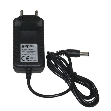 Diskon Adaptor Travo 12v 1a buy gepro um 85 12v 1a dc adapter with cheap price