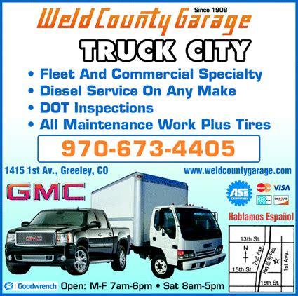 weld county garage buick gmc greeley co 80634 yellowbook