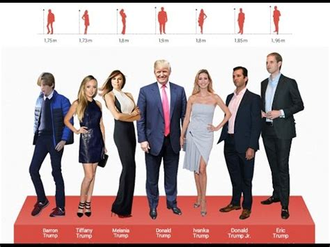 donald trump height in feet barron trump height the height of the family donald trump