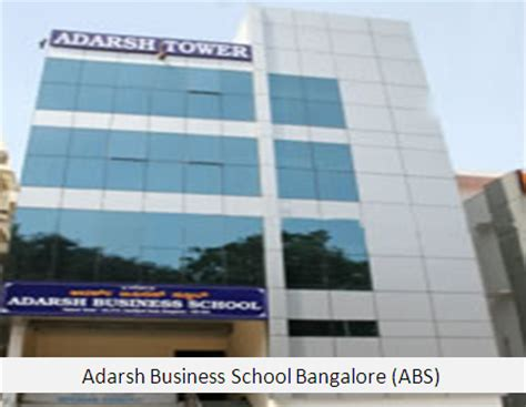 Aegis Mba by Adarsh Business School Bangalore Abs Mba Pgdm