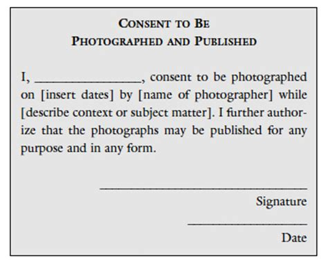 the role of permission in photography | educational
