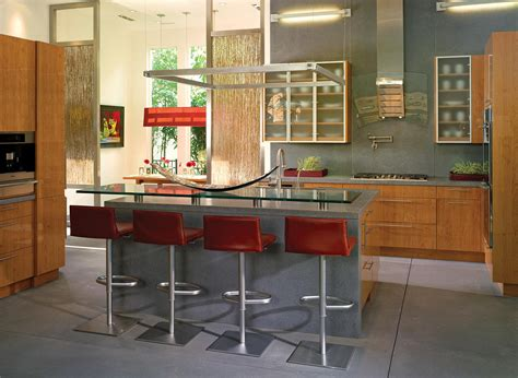 open kitchen bar design open contemporary kitchen design ideas idesignarch