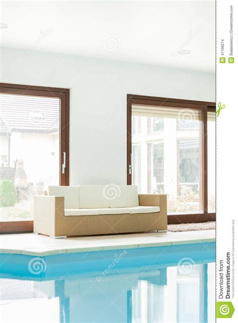 swimming pool sofa sofa at the swimming pool stock photo image 47108274