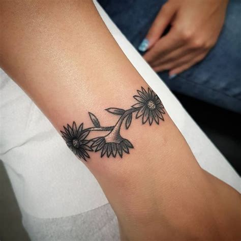 daisy chain wrist tattoo 48 unique tattoos to style your