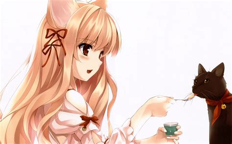 imagenes anime neko fondos de pantalla neko girls anime descargar imagenes