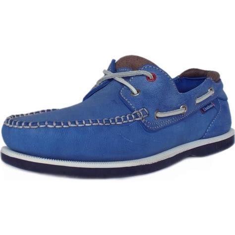 chatham churchill g2 blue deck shoe mens classic boat