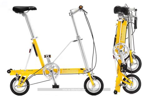 carry me dual speed by delcell bicicleta plegable ultraligera carryme ds dual speed por