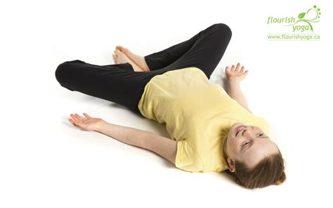 Reclining Butterfly Pose by Healthy Habits For Archives Flourish