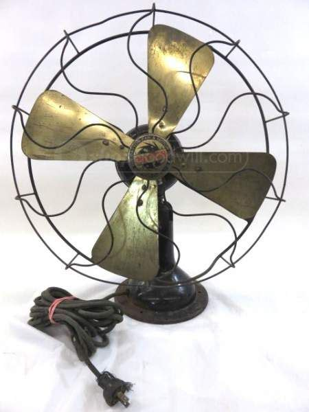 ceiling fans dayton ohio vintage dayton brass blade oscillating fan again