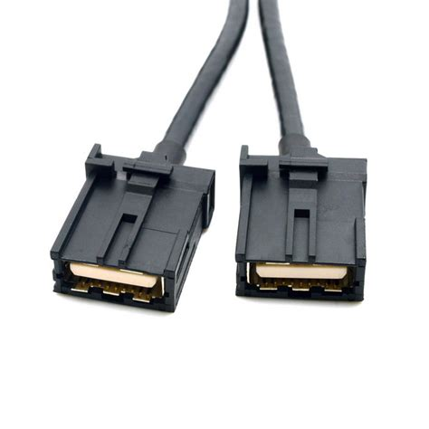 1 5m Hdmi High Speed Cable Black high speed automotive grade type e hdmi f f av cable