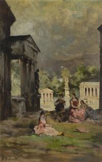 donne in giardino federico andreotti auctions results artnet
