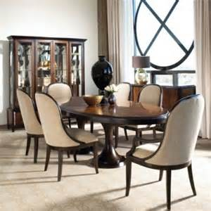 Bernhardt Dining Room Set by Bernhardt Palomar Contemporary Dining Room 7 Pc Set