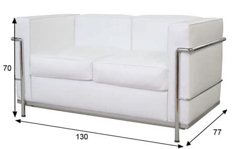 divani le corbusier divano le corbusier lc2 2 posti bianco rental design