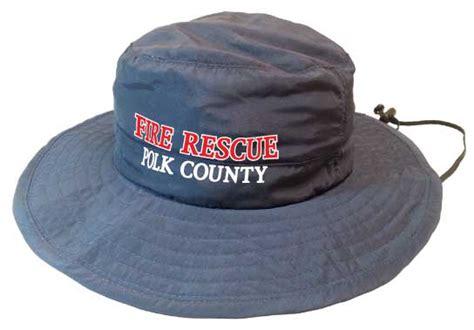 design lab polk county supplex boonie hat navy polk county fire rescue