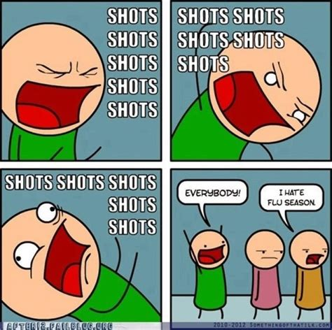 Shots Meme - flu quotes but cute quotesgram