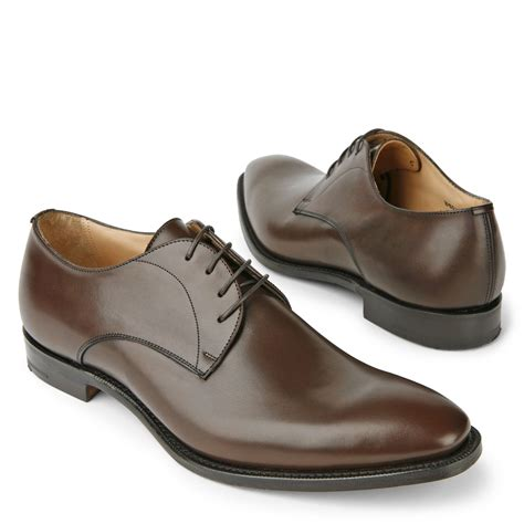 church s sawley derby shoes in brown for lyst