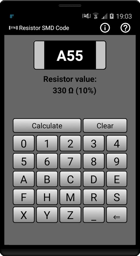 how to calculate smd resistor value resistor smd code calculator android apps on play