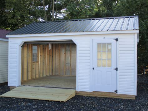 Garage Prebuilt by Prefabricated Garages Manufacturers Information Metal
