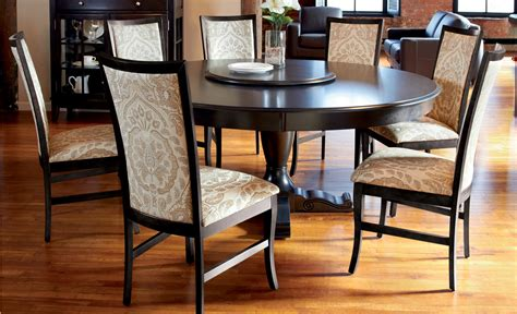 dining room sets round table round dining room sets with leaf alliancemv com