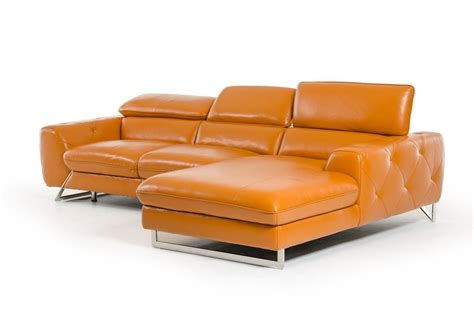 Luxury Italian Top Grain Leather Sectional Sofa Stamford Sectional Sofas Ct