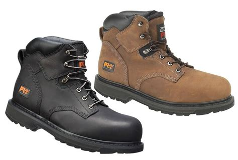 Timberland Pro Leather timberland pro welted 6inch s3 safety boot