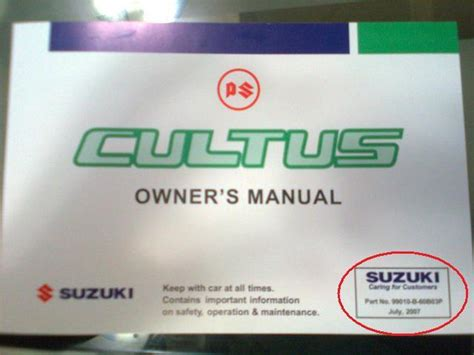 Suzuki Cultus Manual Pdf Cultus Vxr 2000 A Gem A Real Workhorse Members