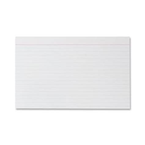 printable index cards 5x8 sparco products index card ruled 8 point 75 lb 5x8