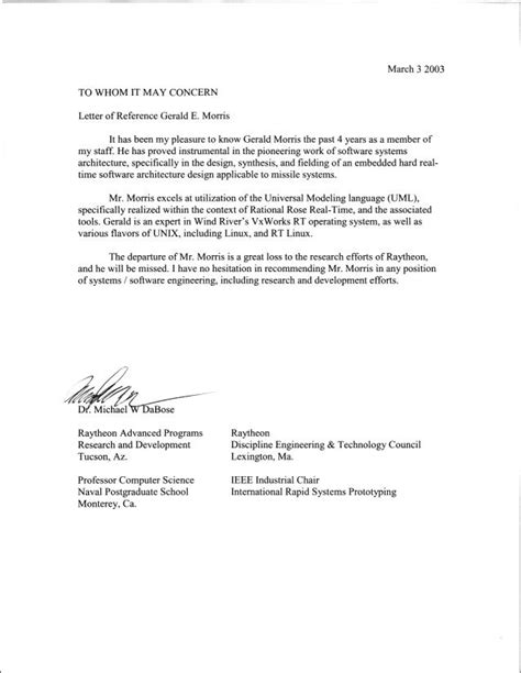Recommendation Letter Word Best Photos Of Microsoft Office Letter Of Recommendation