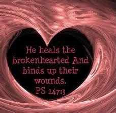 he heals the brokenhearted living and loving after rejection books jesus the word of god on jesus faith in god