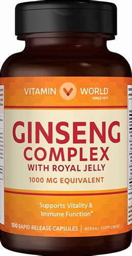 ginseng complex 1 000mg at vitamin world
