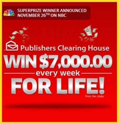 Pch Winner Announced Today - pch set for life sweepstakes 7 grand a week for life sweeps maniac