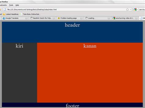 membuat website pribadi sederhana membuat halaman web sederhana dengan html dan css blog