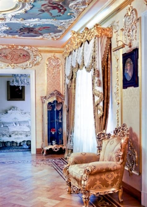 luxury apartment in the rococo style in st petersburg