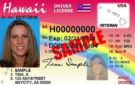hawaii allows new veteran designation on driver s licenses