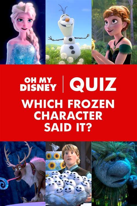 frozen film quiz best 25 frozen quiz ideas on pinterest disney insider