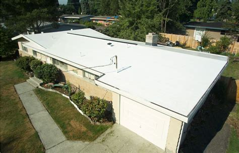 Flat Roof Options Pvc Roofing Is The Best Choice For A Low Slope Or Flat Roof