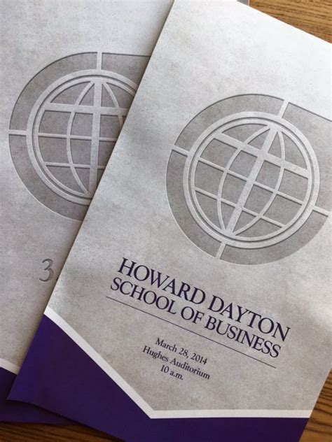 Of Dayton Mba Course Descriptions by Howard Dayton School Of Business Two Cups Creative