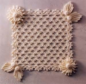 Lace Crochet Christmas Ornaments Free Pattern Petals » Ideas Home Design