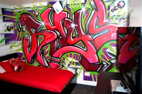 Graffiti Designs For Bedrooms Room Graffiti Design Modern Diy Designs