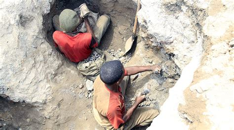 democratic republic of congo child labor mining apple microsoft allegedly use cobalt sourced from child