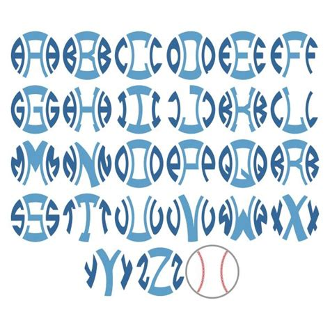 baseball pattern font best 25 baseball font ideas on pinterest