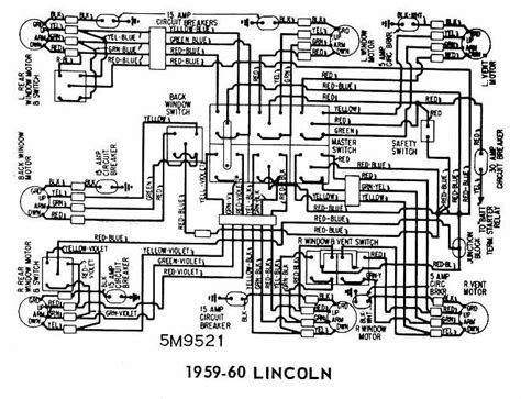 lincoln   windows wiring diagram