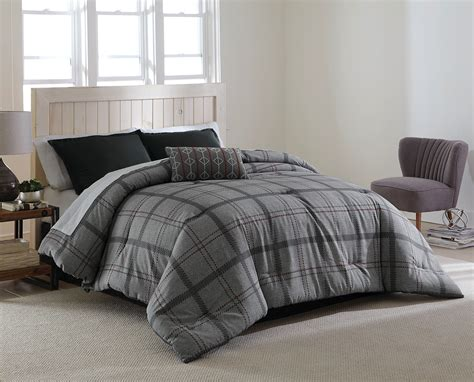 black grey comforter black grey plaid bedding bedding sets collections